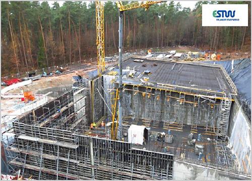 Neubau Hochbehälter Meilwald NI = 2 x 6.000 m³
